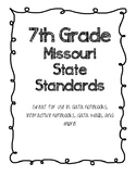 7th Grade Missouri State Standards