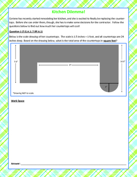 7th Grade Mixed Review/Task