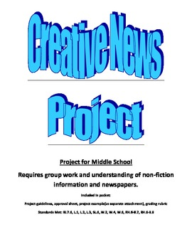 7th Grade News Project