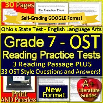 Ohio State Test Prep Ela & Worksheets | Teachers Pay Teachers