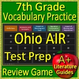 7th Grade Ohio Air Test Prep Vocabulary Practice Review Game