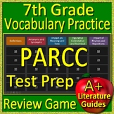 7th Grade PARCC Test Prep Vocabulary Practice Review Game
