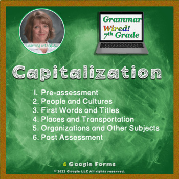 7th Grade: Part 10 Capitalization--Grammar Wired!