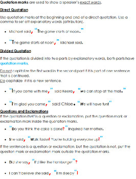7th Grade: Part 11 Punctuation--Grammar Wired!