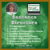 7th Grade: Part 8 Sentence Structure--Grammar Wired!