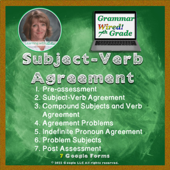7th Grade: Part 9 Subject-Verb Agreement--Grammar Wired!