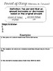 7th Grade Percent Mini Lessons and Practice 7.RP.3 7.EE.3