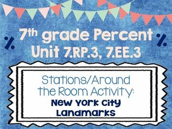 7th Grade Percent Problem Solving 7.RP.3 7.EE.3