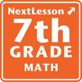 7th Grade Math Performance Tasks Bundle