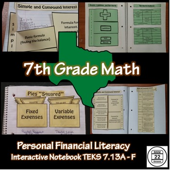 7th Grade Math TEKS Personal Financial Literacy