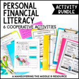 7th Grade Personal Financial Literacy Activity Bundle