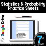 7th Grade Practice Sheets Statistics Probability Google Dr