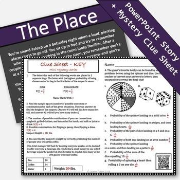 7th Grade Probability Activity! Mini Mystery