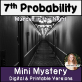 7th Grade Probability Activity! Mini Mystery