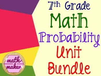 7th Grade Probability Bundle ~ Tons of Great Resources