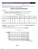 7th Grade Probability and Statistics - Animal Cracker Probability
