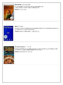 7th Grade Reading List