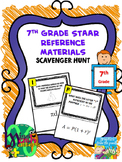 7th Grade Reference Materials Scavenger Hunt | Formula Chart | Interactive