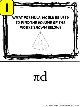 7th Grade Reference Materials Scavenger Hunt | Formula Chart | Interactive