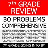 7th Grade Review - Comprehensive