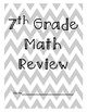 7th Grade Review Packet