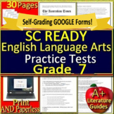 7th Grade SC READY Test Prep Practice Tests - English Language Arts