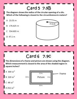 7th Grade STAAR EOC Task Card Bundle