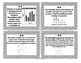 7th Grade STAAR Math Task Cards -Set 4- Data Analysis and