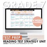 7th Grade STAAR Reading Test Prep Strategy or Summer School Four Week Unit