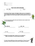 7th Grade STAAR Review -Ninja Turtles