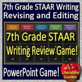 7th Grade STAAR Writing -  Revising and Editing Review Game #1