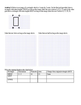7th Grade Scale Drawings Unit Resources