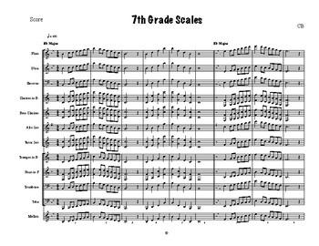7th Grade Scales