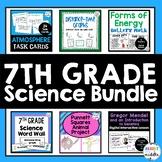7th Grade Science Resources Bundle