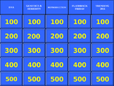 7th Grade Science DNA/Genetics JEOPARDY REVIEW