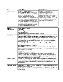 7th Grade Science Edtpa Lesson Plan