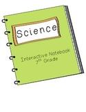 7th Grade Science Interactive Notebook