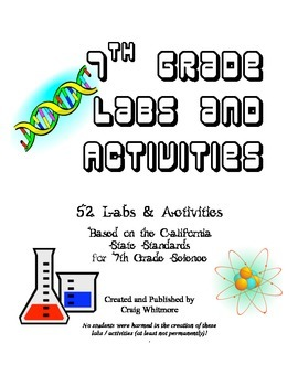 7th Grade Science Labs and Activities