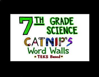 7th Grade Science TEKS Flash Cards