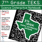 7th Grade Science TEKS - Science Interactive Notebook