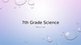 7th Grade Science Warm-ups