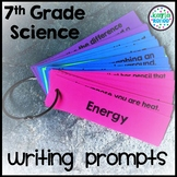 7th Grade Science Writing Prompts