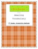 7th Grade Scientific Method Vocabulary Packet