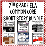 7th Grade Short Story Common Core Aligned Lesson Plan Collection
