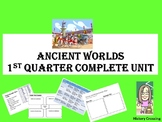 Ancient Worlds Complete Curriculum for 1st Quarter