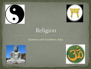 7th Grade Social Studies East Asia Religion
