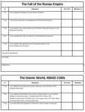 7th Grade Social Studies TN Ready Student Tracking: Editable