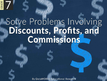 Solve Problems involving Discounts, Profits, and Commissions