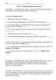 7th Grade Standard-Based Statistics Test