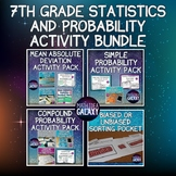 7th Grade Statistics and Probability Activity Bundle
